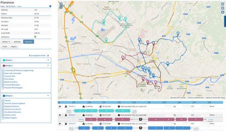 Routist, servicio para optimizar las rutas de los vehículos de tu empresa