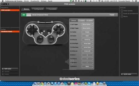 Configurando el Steelseries Free en OS X