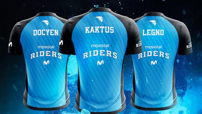 Movistar Riders refuerza su equipo de Rainbow Six: Siege con tres nuevos nombres