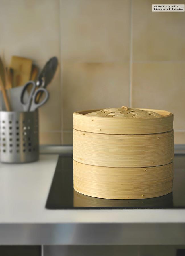 Vaporera De Bambu