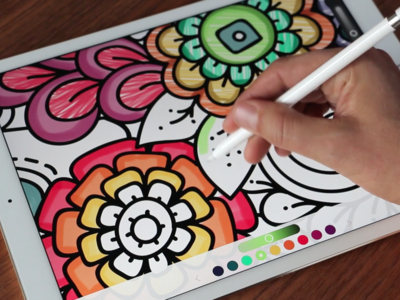 Pigment o el placer de colorear dibujos en tu iPhone y iPad. App de la semana