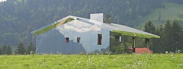 The Mirage Gstaad, la casa de espejos, la última tendencia de Land Art que podrás visitar en tus vacaciones en los Alpes Suizos