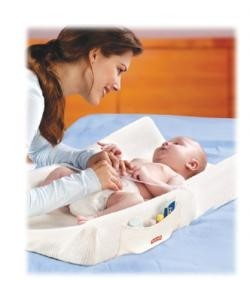El bebé alimentado con leche materna hace caca más veces al día