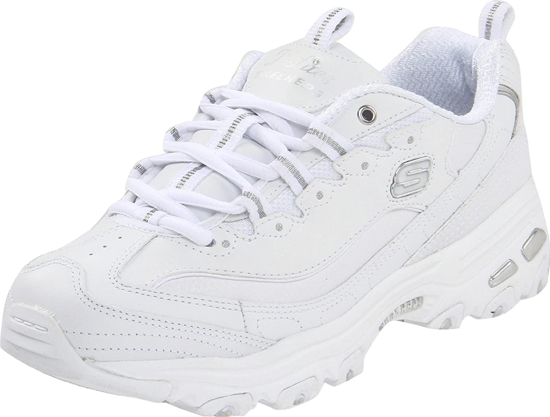 Skechers 11422 BKW - Zapatillas de Deporte para Mujer
