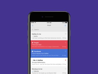 Tidy Inbox es la nueva característica de Newton para que te centres en los correos que importan