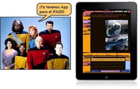 Convierte tu iPad en un iPADD de Star Trek