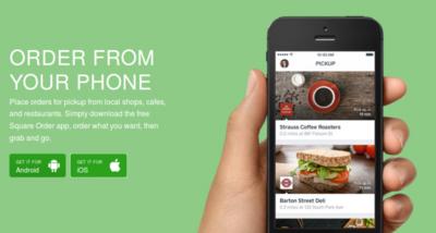 Square se expande: ahora permite pedir comida para llevar