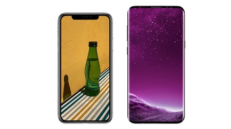 Los costes de fabricación de los Galaxy S9+ y iPhone X casi parejos, a pesar del papel de fabricante de Samsung