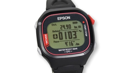 Epson sorprende con un reloj GPS ligero