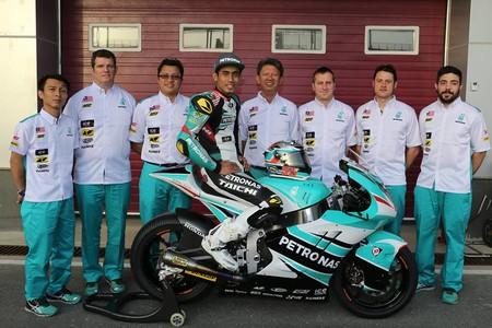 Hafizh Syahrin Petronas Raceline 2017