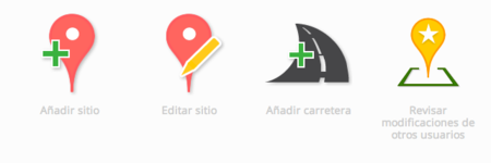 google map make españa