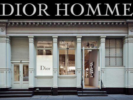 Pop Up store de DIOR HOMME en SOHO