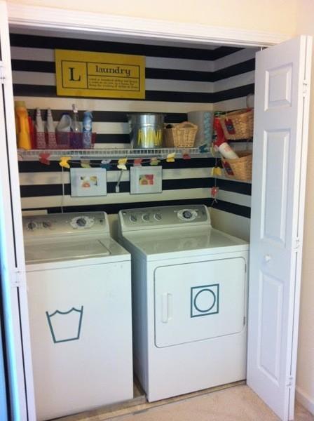 La semana decorativa ideas para decorar en los espacios for Planos de cocina y lavanderia