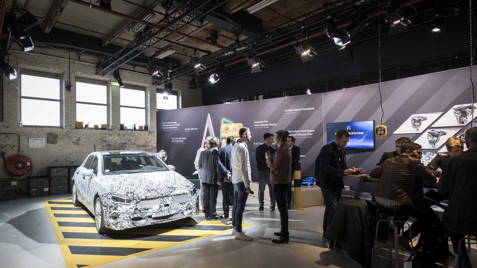 Foto de Mercedes-Benz Clase A 2018 - presentación (51/114)