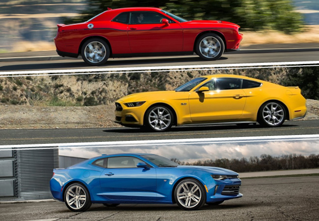 Mustang Vs Camaro Vs Challenger La Eterna Pelea De Los