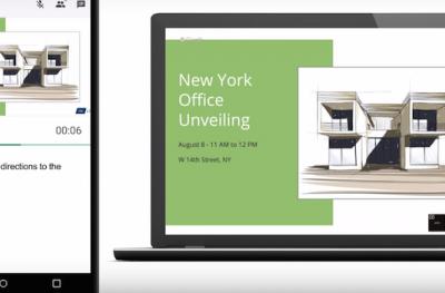 Google Slides ahora permite compartir presentaciones durante videollamada en Hangout