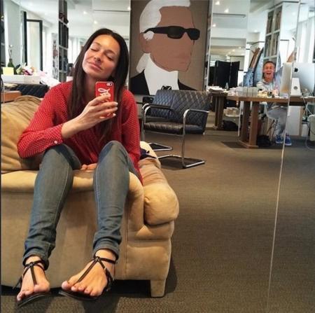amanda sanchez selfie