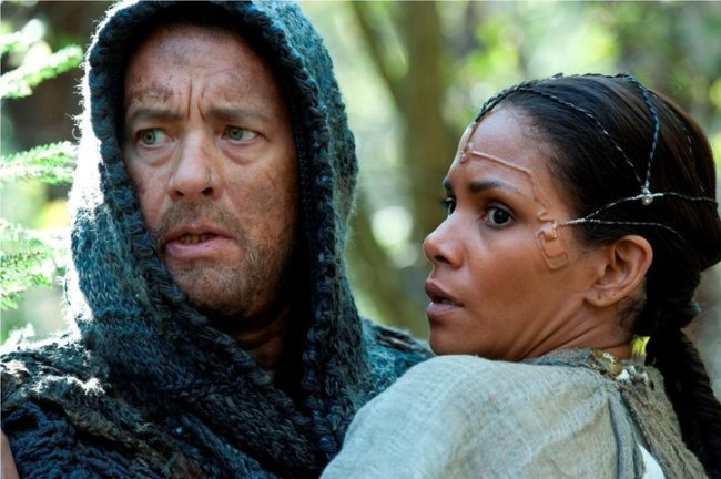 Tom Hanks y Halle Berry en El Atlas de las Nubes