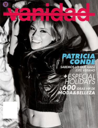 Patricia Conde en la Revista Vanidad