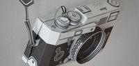 La Leica M3 se pasa a la papiroflexia