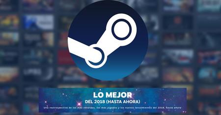 Estos son los 100 juegos más vendidos de Steam durante  2018 (hasta ahora)