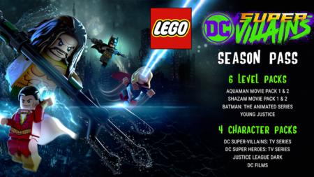 Lego Dc Super Villanos Pase Temporada