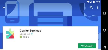 Google lanza Carrier Services para que Android pueda exprimir las últimas capacidades de la red