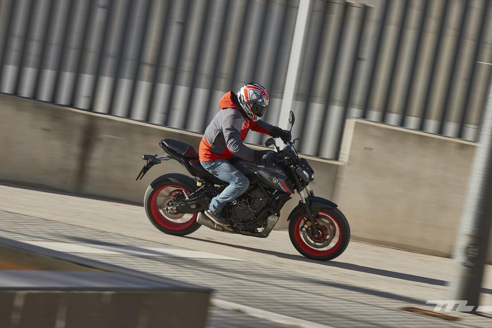 Foto de Yamaha MT-07 2021, prueba (57/75)