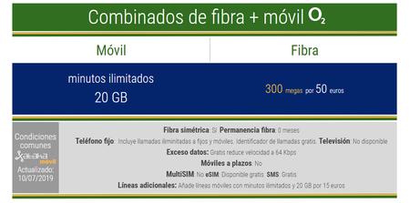Nuevas Tarifas Combinadas De Fibra Y Movil O2 Agosto 2019