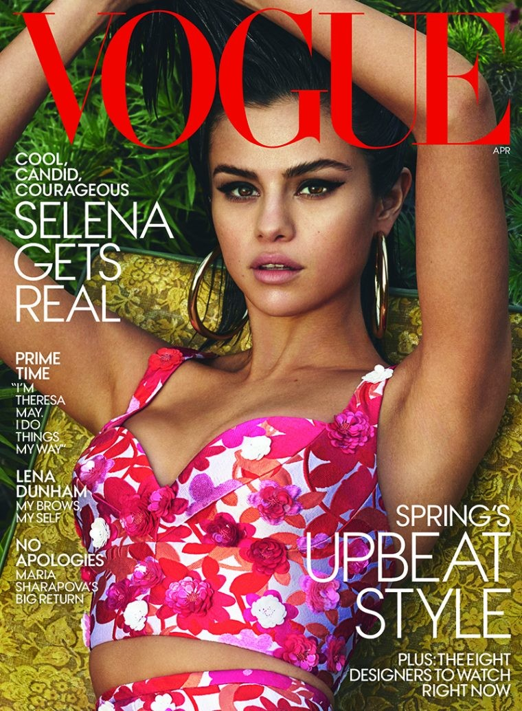 Vogue USA: Selena Gomez