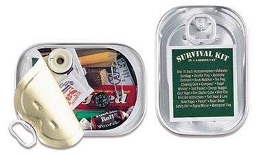 Kit de supervivencia en una lata de sardinas