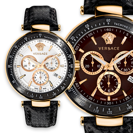 Versace y sus nuevos relojes hay que ir pensando en los regalos del Día del Padre