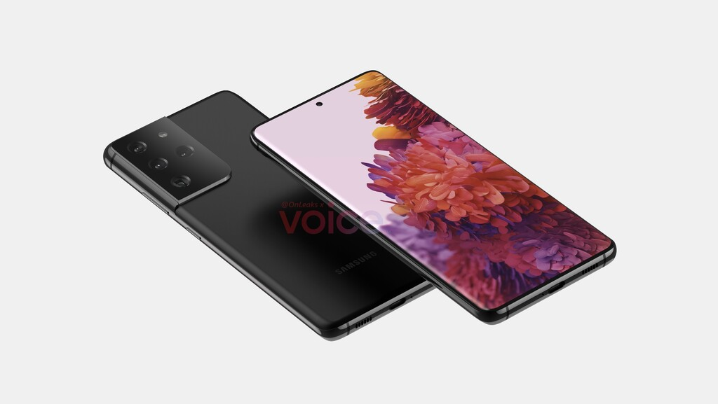 La primera filtración de los probables Samsung® Galaxy™ S21 y S21 Ultra deja visualizar el mas reciente esquema y su fecha de lanzamiento