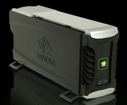 Quadro Plex 1000, nuevo procesador gráfico de Nvidia