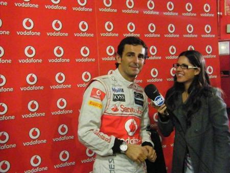 Pedro de la Rosa es contratado nuevamente como piloto reserva de McLaren Mercedes (inocentada)