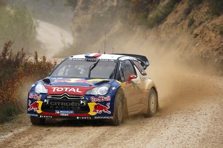 Rally Catalunya 2012: El asfalto coloca líder a Sébastian Loeb
