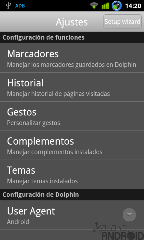 Foto de Dolphin Browser HD (21/21)
