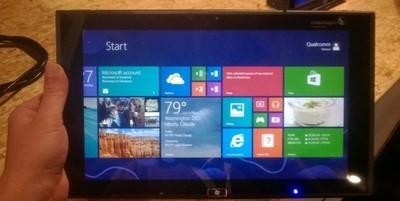 Se deja ver en BUILD una tablet con Windows 8 RT y chip Qualcomm Snapdragon 800