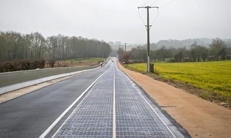 Carretera solar Francia
