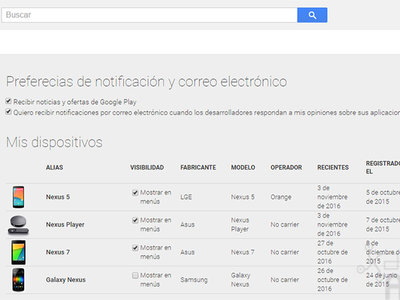 """Google Play elimina automáticamente de """"Mis dispositivos"""" los móviles y tablets que ya no usas"""