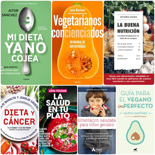 Los siete libros de nutrición que te ayudarán a mejorar tu dieta en 2019
