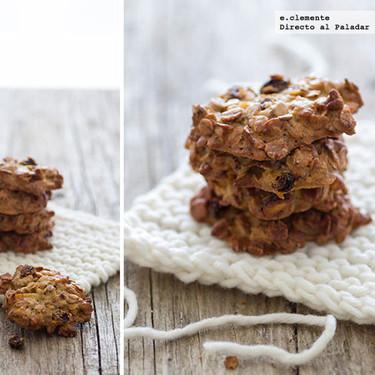 Cookies de muesli y miel: receta de galletas fáciles y sin amasar