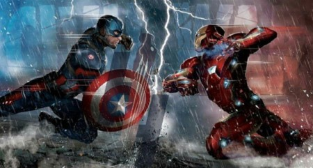 Arte promocional de Captain America: Civil War