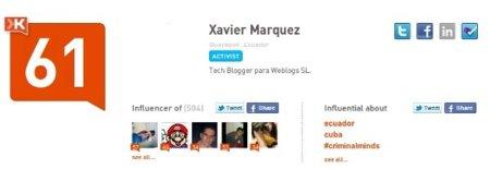 Ahora Klout también medirá tu influencia con los check-ins de Foursquare