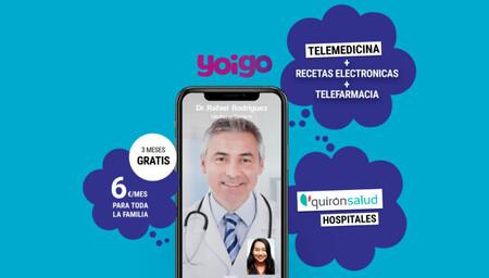 Energía, préstamos y ahora también salud a distancia: Yoigo lanza DoctorGO, su servicio de telemedicina exclusivo para clientes