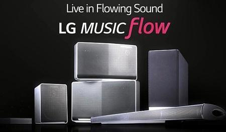 Music Flow de LG le dará un uso más personalizado a las bocinas inalámbricas