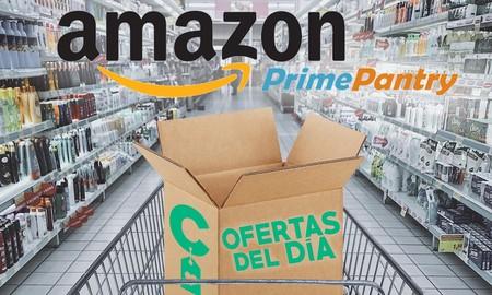 Mejores ofertas del 23 de Octubre para ahorrar en la cesta de la compra con Amazon Pantry