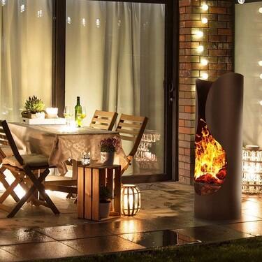 Braseros y chimeneas de exterior, la solución para disfrutar de terrazas y jardines en primavera