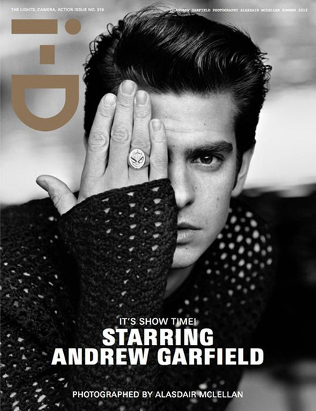 Andrew Garfield, i-D July 2012