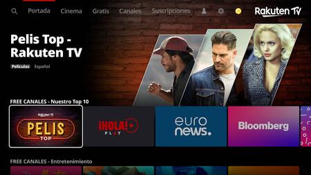 Rakuten TV: 90 canales gratis para ver contenido online las 24 horas del día y plantar cara a otras plataformas